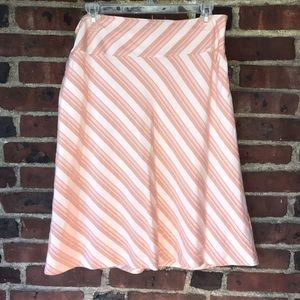 EUC Banana Republic Striped Skirt (Size: 6)